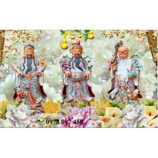 Phúc Lộc Thọ- tranh gạch phong thủy - S4CD thumbnail