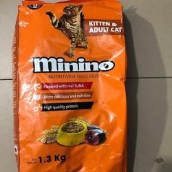 Thức ăn cho mèo Minino - 1,3kg