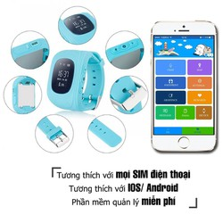 Đồng hồ định vị trẻ em tặng sim 4G