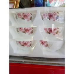 Trà Sâm Hồng 500gr - Mua 5 gói Tặng Bộ Chén Sứ cao cấp - trà sam hồng chống mất ngủ, mỡ máu, huyết áp