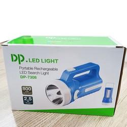 Đèn Pin Sạc Siêu Sáng Led DP-7308 2in1 cho Bảo Vệ