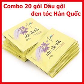 Dầu Gội-Dầu Gội - Combo 20g dầu đen tóc Hàn