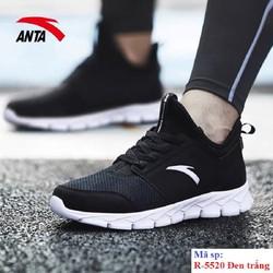 Giày chạy bộ Anta R 5520 đi nhẹ êm vải mềm da chống nước bảo hành 2 tháng đổi mới trong 7 ngày