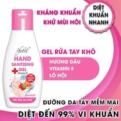 Combo 5 chai nước rửa tay khô diệt khuẩn hương dâu Thebol 100ml