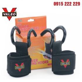 Dây Quấn Cổ Tay Có Móc Hỗ Trợ Nâng Tạ Valeo - Hỗ trợ cổ tay nâng tạ - Quấn cổ tay có móc Valeo