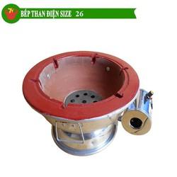 Bếp than điện size 26cm Trí Việt