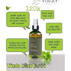 tinh dầu bưởi dưỡng tóc mọc tóc hiệu quả jully