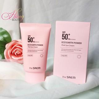 Kem chống nắng The Saem Eco Earth Power Pink Sun Cream - CN010 thumbnail