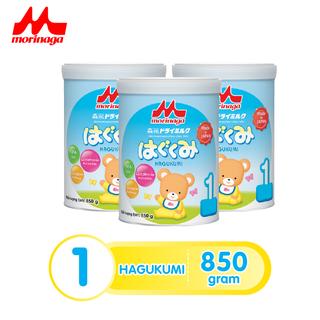 Combo 3 hộp Sữa Morinaga số 1 Hagukumi 850g mới thêm nhiều dưỡng chất - hagu-cb3 thumbnail