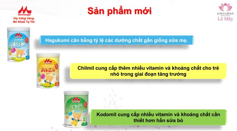 Sữa Morinaga số 3 Kodomil Hương Vani hộp 216g- cho bé từ 3 tuổi tách tem 02.2022 - Ctkmt3 9