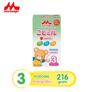 Sữa Morinaga số 3 Kodomil Hương Vani hộp 216g- cho bé từ 3 tuổi tách tem 02.2022 - Ctkmt3 2