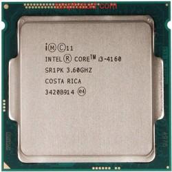 CPU Intel Core i3 4160 3.6Ghz socket 1150