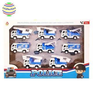 Bộ đồ chơi 8 chiếc xe công trình - NO.363-28 Bộ đồ chơi thumbnail