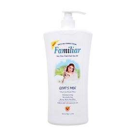 Sữa tắm tinh chất sữa dê Familiar Goat s Milk 1200ml Hàng Chính Hãng - Li-F-ST-GM1200
