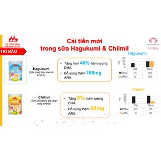 Combo 3 hộp Sữa Morinaga số 3 Kodomil Hương vani hộp 216g- cho bé từ 3 tuổi trở lên codedate022022 - kodomilvani-cb3 5