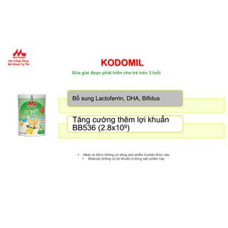 Sữa Morinaga số 3 Kodomil Hương Vani hộp 216g- cho bé từ 3 tuổi tách tem 02.2022 - Ctkmt3 6