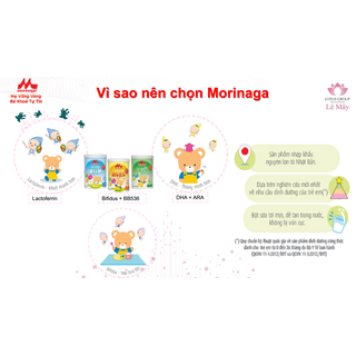 Sữa Morinaga số 3 Kodomil Hương Vani hộp 216g- cho bé từ 3 tuổi tách tem 02.2022 - Ctkmt3 5