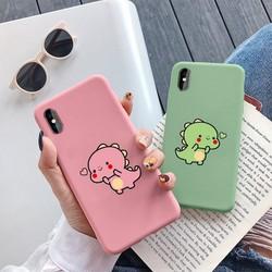 ỐP LƯNG iphone KHỦNG LONG BÚNG TIM - ỐP IPHONE DẺO cho iphone 6 6s 6plus 7 8 7plus 8plus x xs xr xsmax