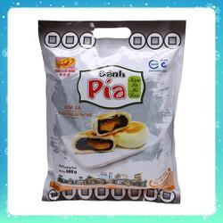 Bánh Pía Tân Huê Viên Kim Sa Mini Mè Đen 480g [ khoảng 12 cái ]