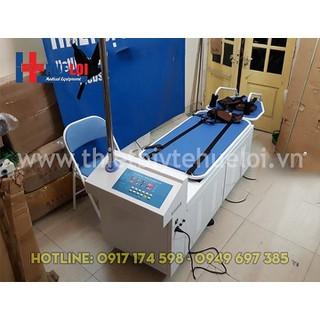 Giường kéo giãn cột sống lưng cổ dùng cho bệnh viện, phòng khám - Giường kéo giãn cột sống lưng thumbnail