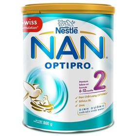 Sữa bột Nan optipro 2 800g - Nan 2 800g