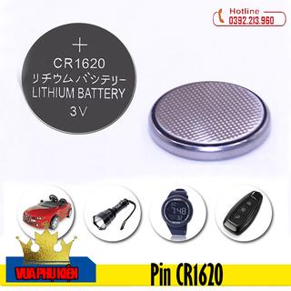 Pin CR1620 Lithium 3V Dùng Cho Nhiều Thiết Bị - Pin CR1620 thumbnail