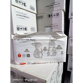 Bỉm Thỏ Momo Rabit Hàn Quốc Size S Dán - Bỉm Thỏ Momo HQ Size S Dán