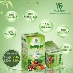 Kẹo diệp lục trái cây Yến Chi natural - cải thiện đường ruột, đánh bay táo bón