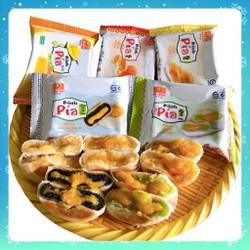 [nhập SD41V6 còn 50] Bánh Pía Tân Huê Viên kim sa mini [Combo ăn thử 5 cái 5 vị