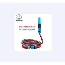 Bộ vòi tưới cây đa năng Lionking dây 3 lớp BỀN, ĐẸP VÀ TIỆN LỢI DÀI 10M, ĐỦ PHỤ KIỆN