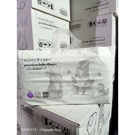 Bỉm Thỏ Momo Rabit Hàn Quốc Size M Dán - Bỉm Thỏ Momo HQ Size M Dán