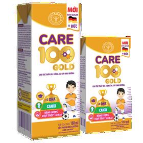 Sữa Care 100 Gold 110ml Pha Sẵn Thùng 12 vỉ 48 hộp - pha san
