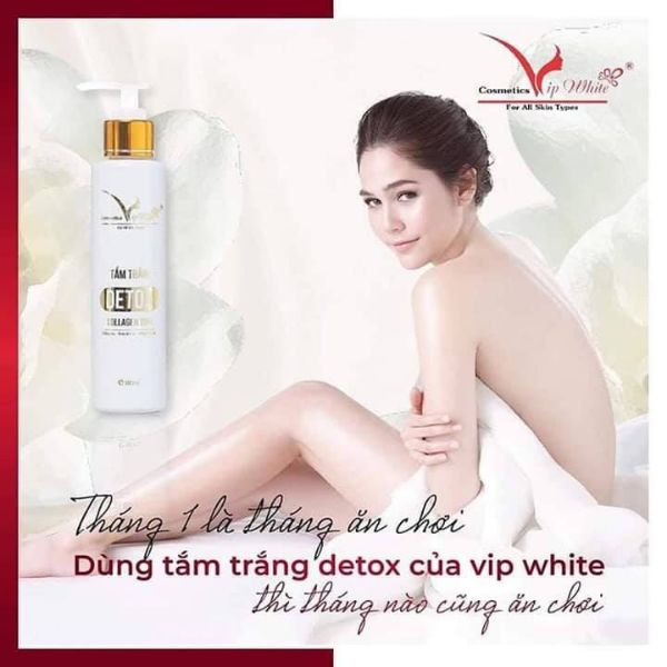 Tắm trắng Vip White chính hãng