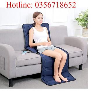 đệm massage hồng ngoại - massage toàn thân - gd163-1 thumbnail