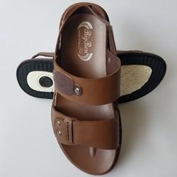 Giày Sandal Nam Quai Hậu Da Bò Thật Cao Cấp BIGBEN SD597