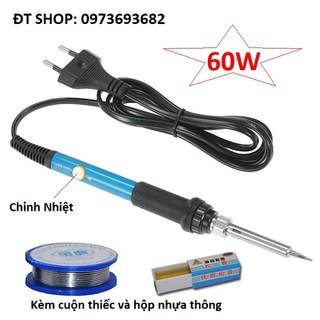 Mỏ hàn thiếc 60w chỉnh nhiệt kèm thiếc và nhựa thông - chỉnh nhiệt+thiếc+nhựa thông02 thumbnail