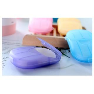 1 hộp xà phòng giấy tiện lợi ,1 hộp được nhiều miếng,tiện lợi đ idu lịch.đi học .đi làm ,chống vi khuẩn bảo vệ sức khoẻ - XAPHONGGIAY thumbnail
