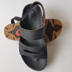 Giày Sandal Nam Quai Hậu Da Bò Thật Cao Cấp BIGBEN SD595