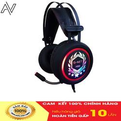 Tai nghe gaming giá rẻ G-Net H99 - Cổng kết nối 3.5 - Dùng được cho điện thoại, đèn led cực bắt mắt - BH 12 tháng chính hãng