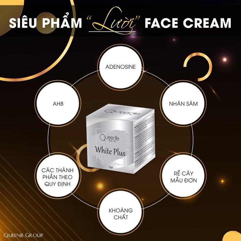 Kem Dưỡng Da Mặt LƯỜI Face Cream Queenie Skin
