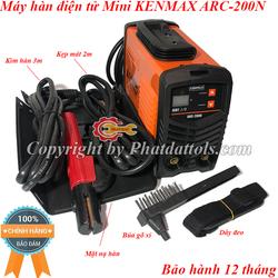 Máy hàn điện tử mini KENMAX ARC-200N-Công nghệ Nhật Bản-Hàng chính hãng-Bảo hành 12 tháng-Đầy đủ phụ kiện
