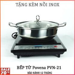 Bếp Từ Povena PVN-21 - Tặng kèm nồi inox