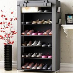 Tủ giày-Tủ kệ giày 7 tang 6 ngăn – tu ke giay