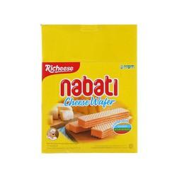 Combo 3 hộp Bánh xốp Nabati nhân kem phô mai mỗi hộp 340g