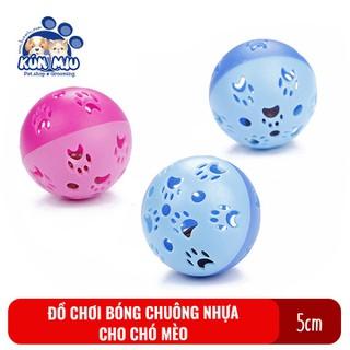 Đồ chơi Bóng chuông nhựa Kún Miu cho chó mèo đường kính 5cm - PVN1913 thumbnail