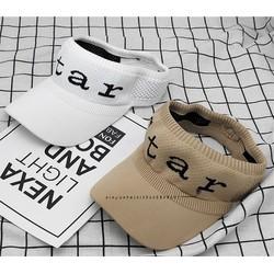 Mũ hở đầu thời trang chữ STAR phong cách