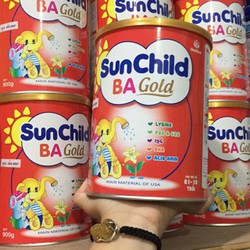 Sua bot Sunchild Ba Gold sữa tăng cân cho bé 400g date moi
