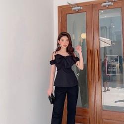 Áo peplum 2 dây|Áo nữ mẫu xinh