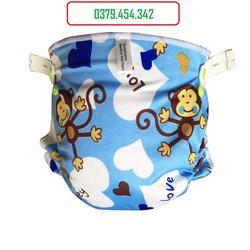 Set 3 bỉm vải sơ sinh cho bé