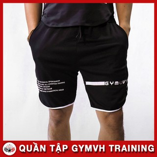 Quần Gym GYMVH Siêu Đẹp, Quần Short Gym Hàng Viêt Nam Kuất Khẩu QT019 - QT019 thumbnail